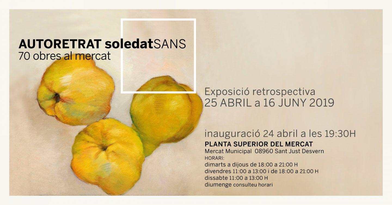 Autorretrat Soledat Sans, 70 obres al Mercat
