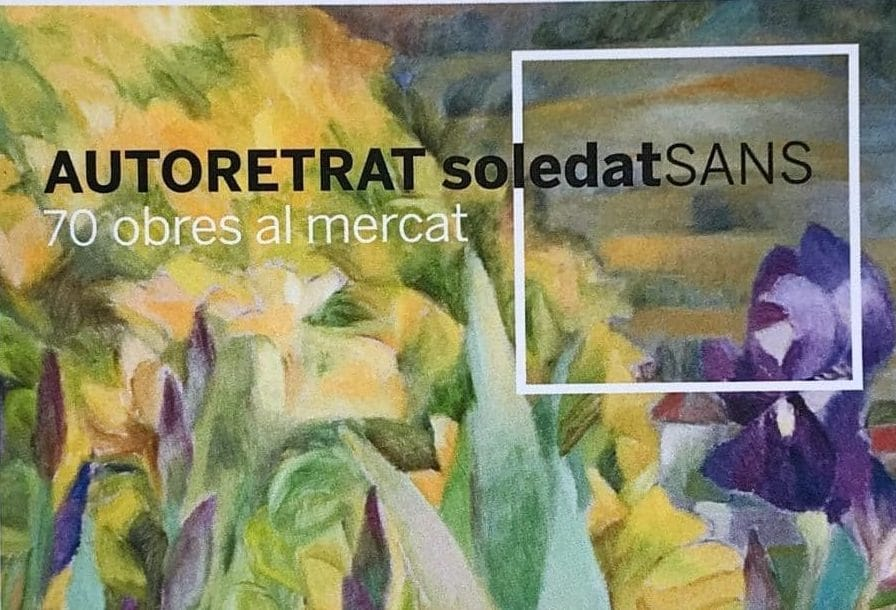 Maig 2019. Entrevista a Soledat Sans al Butlletí Municipal de Sant Just Desvern, pintora i fundadora del Carrau Blau