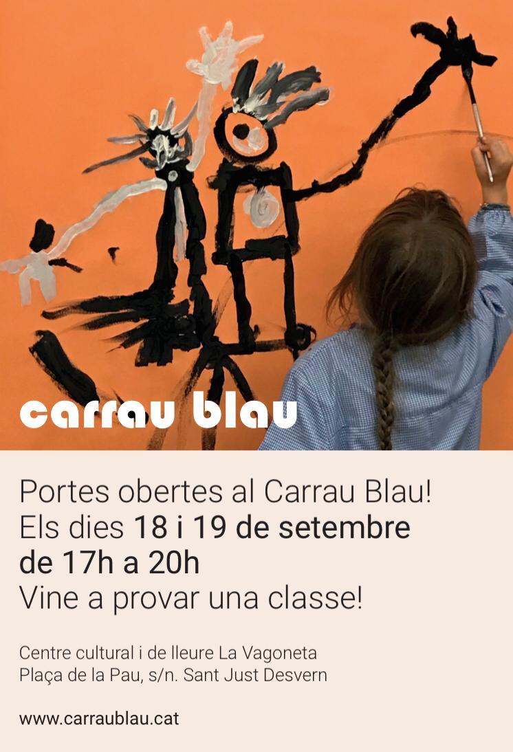 Portes obertes al Carrau Blau, vine a provar una classe!
